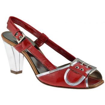 Boty Ženy Sandály Progetto  Červená
