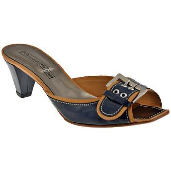 Boty Ženy Sandály Progetto  Modrá