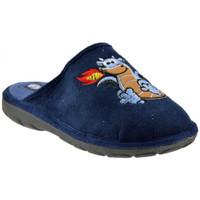 Boty Děti Papuče Inblu  Modrá