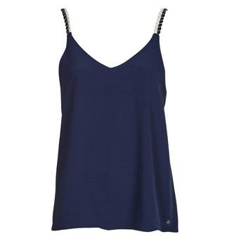Textil Ženy Halenky / Blůzy Betty London EVOUSA Tmavě modrá