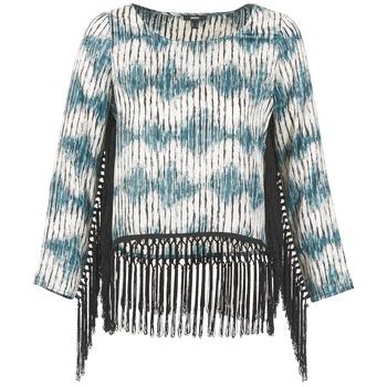 Textil Ženy Trička s dlouhými rukávy Mexx AMBRELI Modrá
