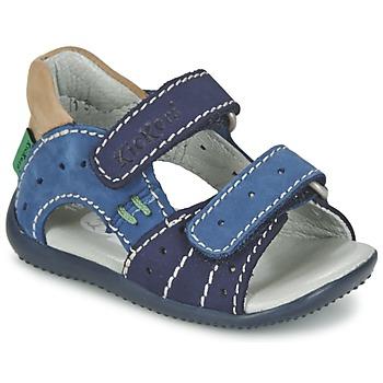 Boty Chlapecké Sandály Kickers BOPING Tmavě modrá