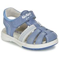Boty Chlapecké Sandály Kickers PLATINIUM Modrá