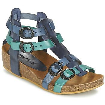 Boty Dívčí Sandály Kickers BOMDIA Modrá