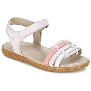Boty Dívčí Sandály Kickers VELOZ Růžová