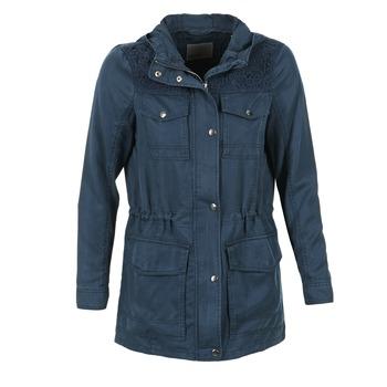 Textil Ženy Parky Vero Moda PARK Tmavě modrá