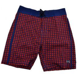 Textil Muži Kraťasy / Bermudy Billabong  Červená