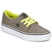 Boty Chlapecké Nízké tenisky DC Shoes TRASE TX Šedobéžová