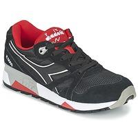 Boty Nízké tenisky Diadora N9000 NYLON II Černá / Červená