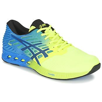 Boty Muži Běžecké / Krosové boty Asics FUZEX Modrá / Žlutá