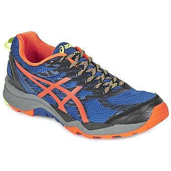 Boty Muži Běžecké / Krosové boty Asics GEL-FujiTrabuco 5 Modrá