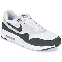 Boty Muži Nízké tenisky Nike AIR MAX 1 ULTRA ESSENTIAL Bílá / Šedá