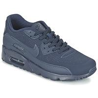 Boty Muži Nízké tenisky Nike AIR MAX 90 ULTRA MOIRE Modrá