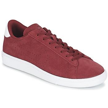 Boty Muži Nízké tenisky Nike TENNIS CLASSIC CS SUEDE Červená