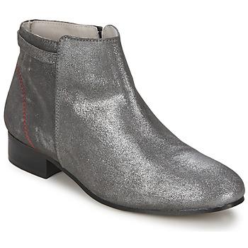 Kotnikove boty Alba Moda  Stříbřitá 350x350