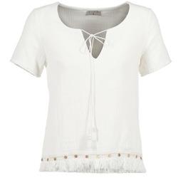 Textil Ženy Halenky / Blůzy Betty London ECHRALE Krémově bílá