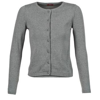 Textil Ženy Svetry / Svetry se zapínáním BOTD EVANITOA Šedá