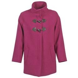 Textil Ženy Kabáty Benetton DILO Růžová