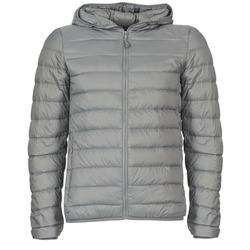 Textil Muži Prošívané bundy Benetton FOULI Šedá