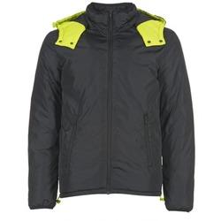 Textil Muži Prošívané bundy Benetton CUFU Černá