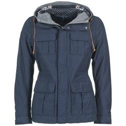 Textil Muži Parky Benetton JULIPO Tmavě modrá