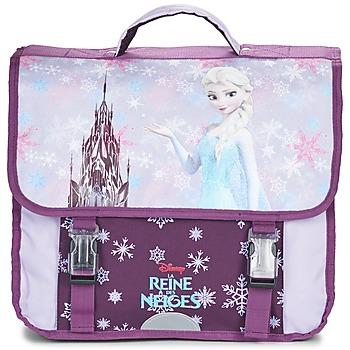 Disney Školní aktovky Dětské REINE DES NEIGES CARTABLE 38CM - Fialová