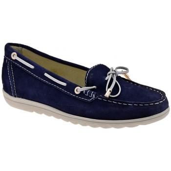 Boty Ženy Mokasíny Keys  Modrá