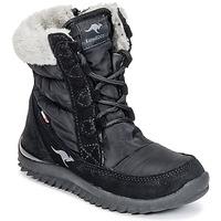 Boty Dívčí Zimní boty Kangaroos CUPY JUNIOR Černá