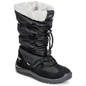 Kangaroos Zimní boty Dětské PUFFY III JUNIOR - Černá