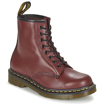 Boty Kotníkové boty Dr Martens 1460 Červená