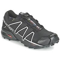 Boty Muži Běžecké / Krosové boty Salomon SPEEDCROSS 4 GTX® Černá / Stříbřitá