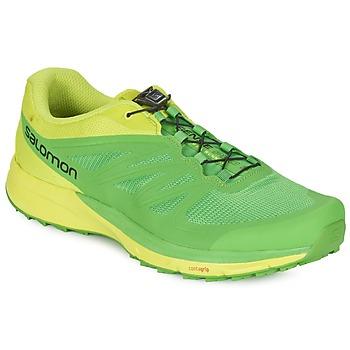 Boty Muži Běžecké / Krosové boty Salomon SENSE PRO 2 Zelená / Černá