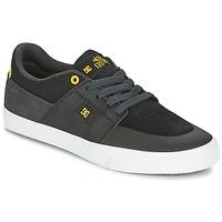Boty Muži Nízké tenisky DC Shoes WES KREMER Černá / Šedá / Žlutá