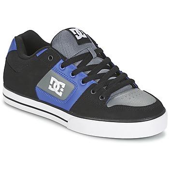 Boty Muži Skejťácké boty DC Shoes PURE Černá / Modrá / Šedá