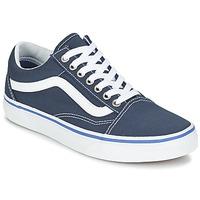 Boty Nízké tenisky Vans OLD SKOOL Tmavě modrá / Bílá