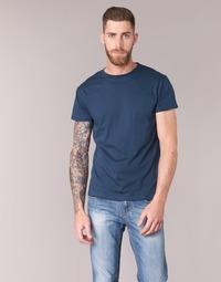 Textil Muži Trička s krátkým rukávem BOTD ESTOILA Tmavě modrá