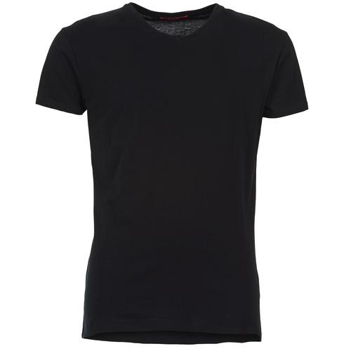 Textil Muži Trička s krátkým rukávem BOTD ECALORA Černá