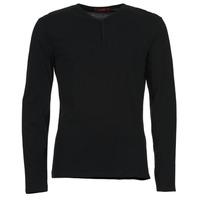 Textil Muži Trička s dlouhými rukávy BOTD ETUNAMA Černá