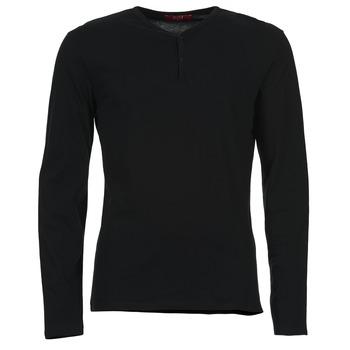 BOTD Trička s dlouhými rukávy ETUNAMA - Černá