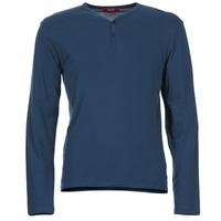Textil Muži Trička s dlouhými rukávy BOTD ETUNAMA Tmavě modrá