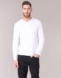 Textil Muži Trička s dlouhými rukávy BOTD ETUNAMA Bílá