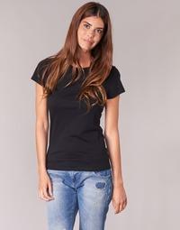 Textil Ženy Trička s krátkým rukávem BOTD EQUATILA Černá