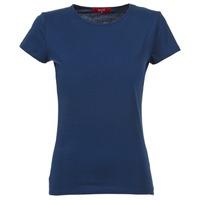 Textil Ženy Trička s krátkým rukávem BOTD EQUATILA Tmavě modrá