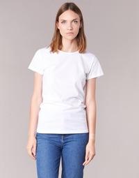 Textil Ženy Trička s krátkým rukávem BOTD EQUATILA Bílá