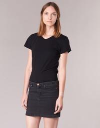 Textil Ženy Trička s krátkým rukávem BOTD EFLOMU Černá