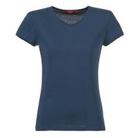 Textil Ženy Trička s krátkým rukávem BOTD EFLOMU Tmavě modrá