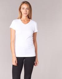 Textil Ženy Trička s krátkým rukávem BOTD EFLOMU Bílá