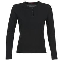Textil Ženy Trička s dlouhými rukávy BOTD EBISCOL Černá