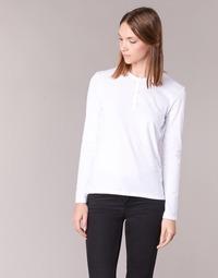Textil Ženy Trička s dlouhými rukávy BOTD EBISCOL Bílá