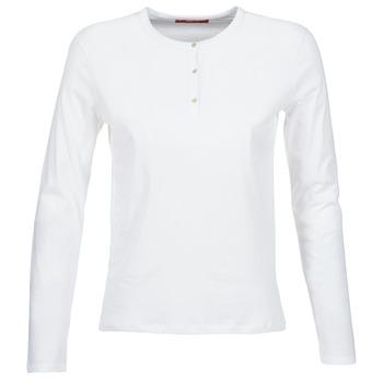 BOTD Trička s dlouhými rukávy EBISCOL - Bílá